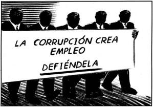 Defiende la corrupción